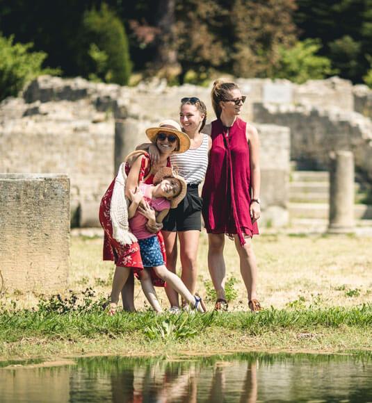 Ruines de la cité romaine de Vaison-la-Romaine ©OBRIEN T