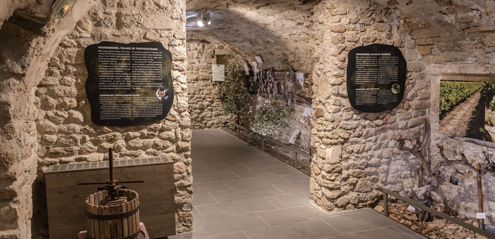 Musée de la truffe à Richerenches
