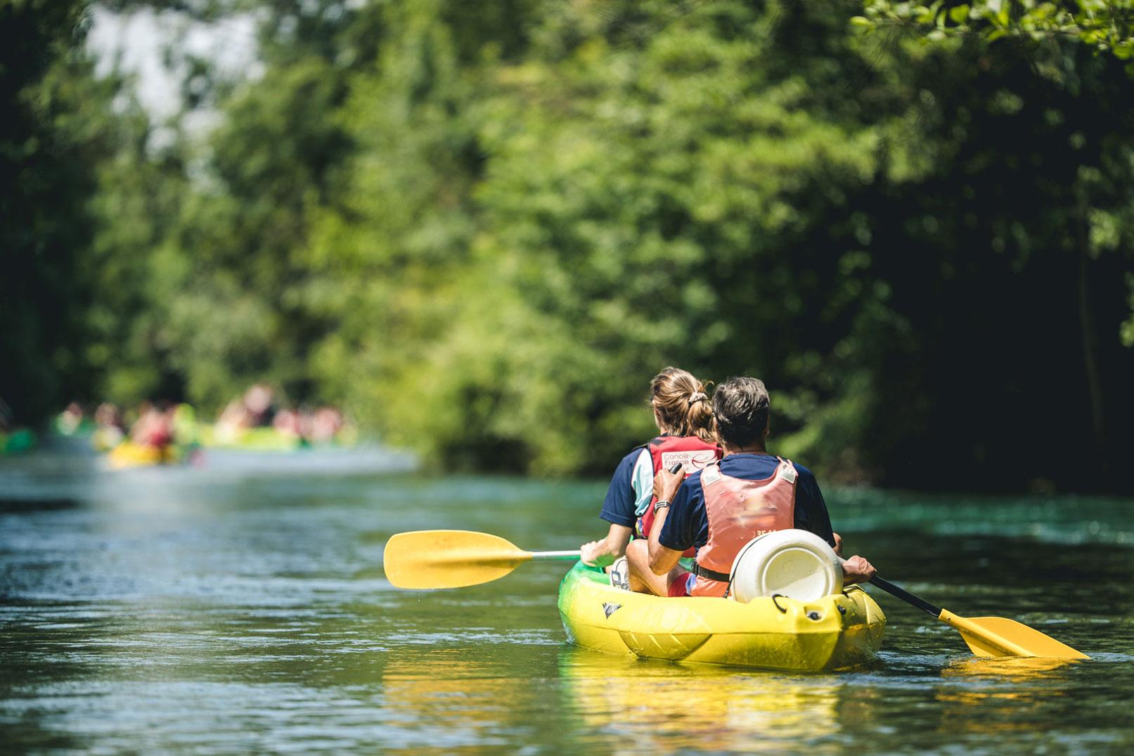 Canoe sur la Sorgue @ O'Brien