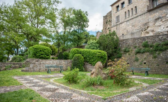 Jardin de la Collegiale de Bollene@ Petitimbert