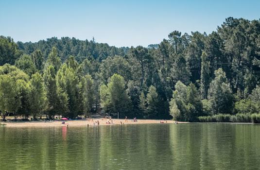 Lac des Salettes au pied du mont Ventoux @ Hocquel