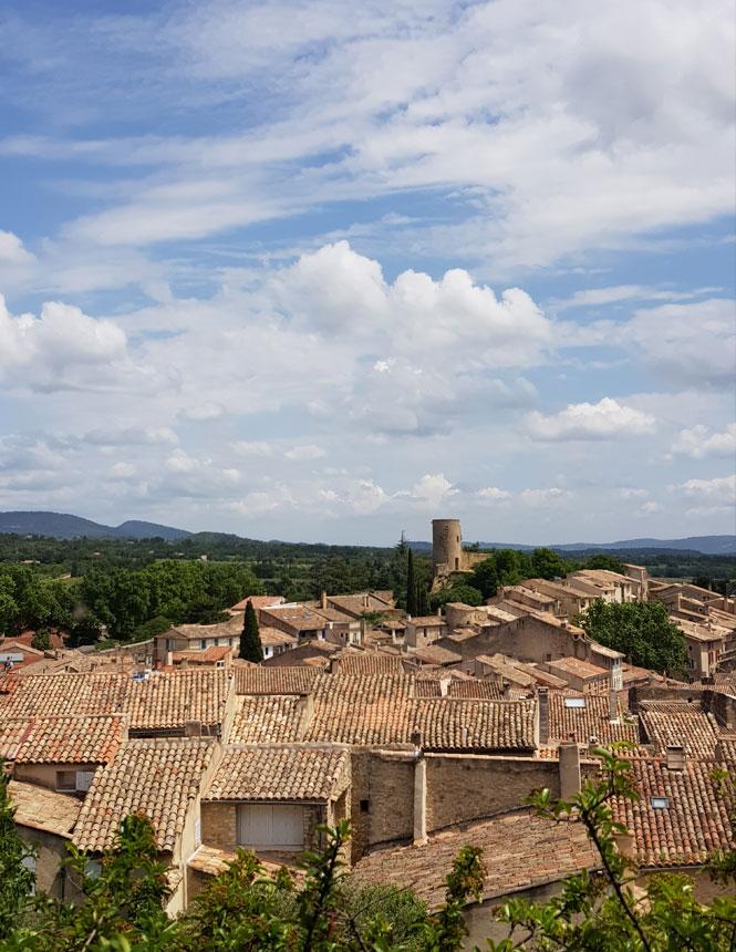 Les toits de Cucuron @ Maisonnave