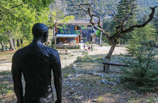 Jardin singulier au Ventoux @ Hocquel