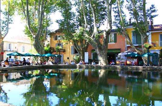 L'étang de Cucuron @ Hocquel