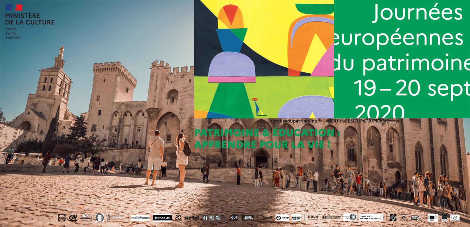 Journées europeennes Patrimoine 2020 @ Planque
