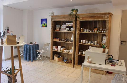 Boutique AJ Arome en Vaucluse