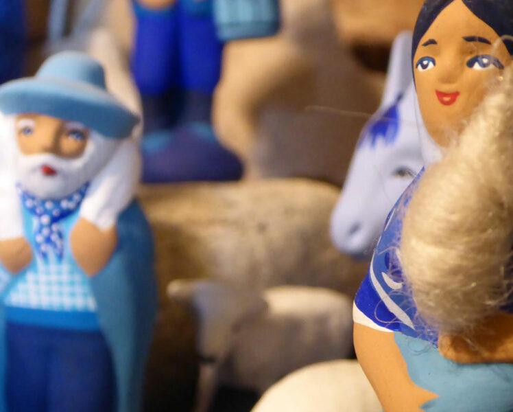Santons bleus de Provence @ santons bleus