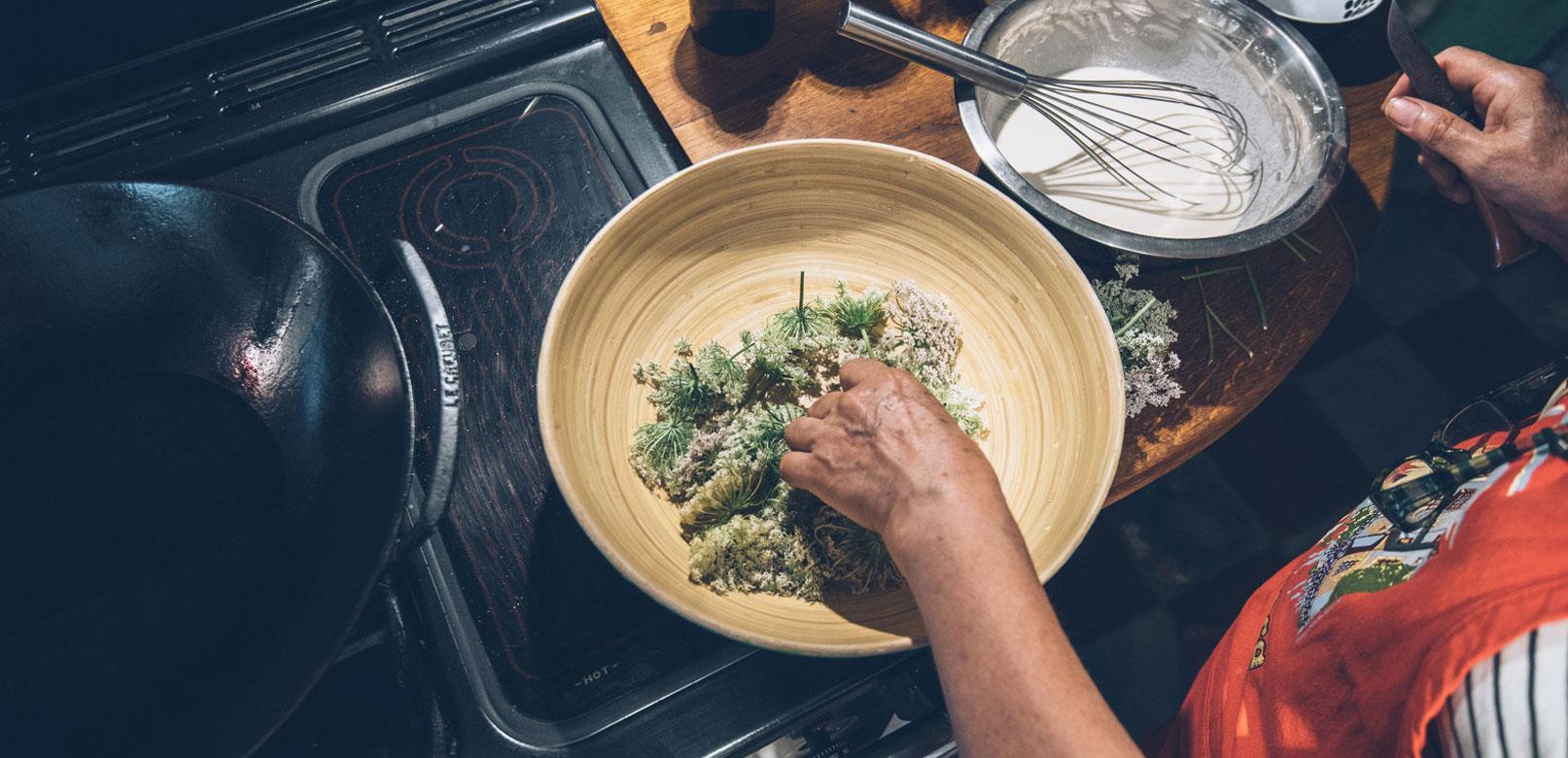 Cours de cuisine en Provence © Coquard