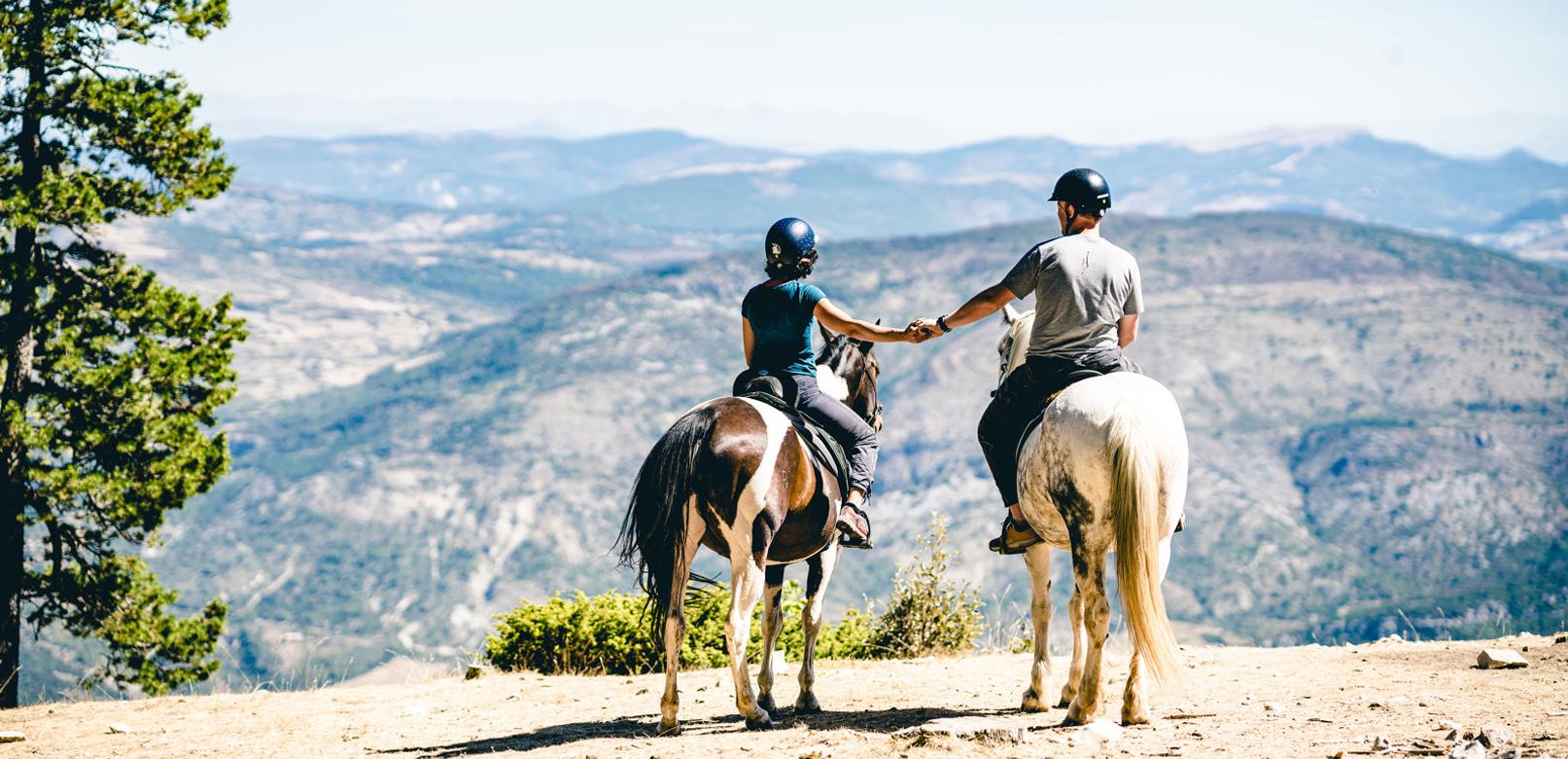 Balade à cheval au Ventoux © O'Brien