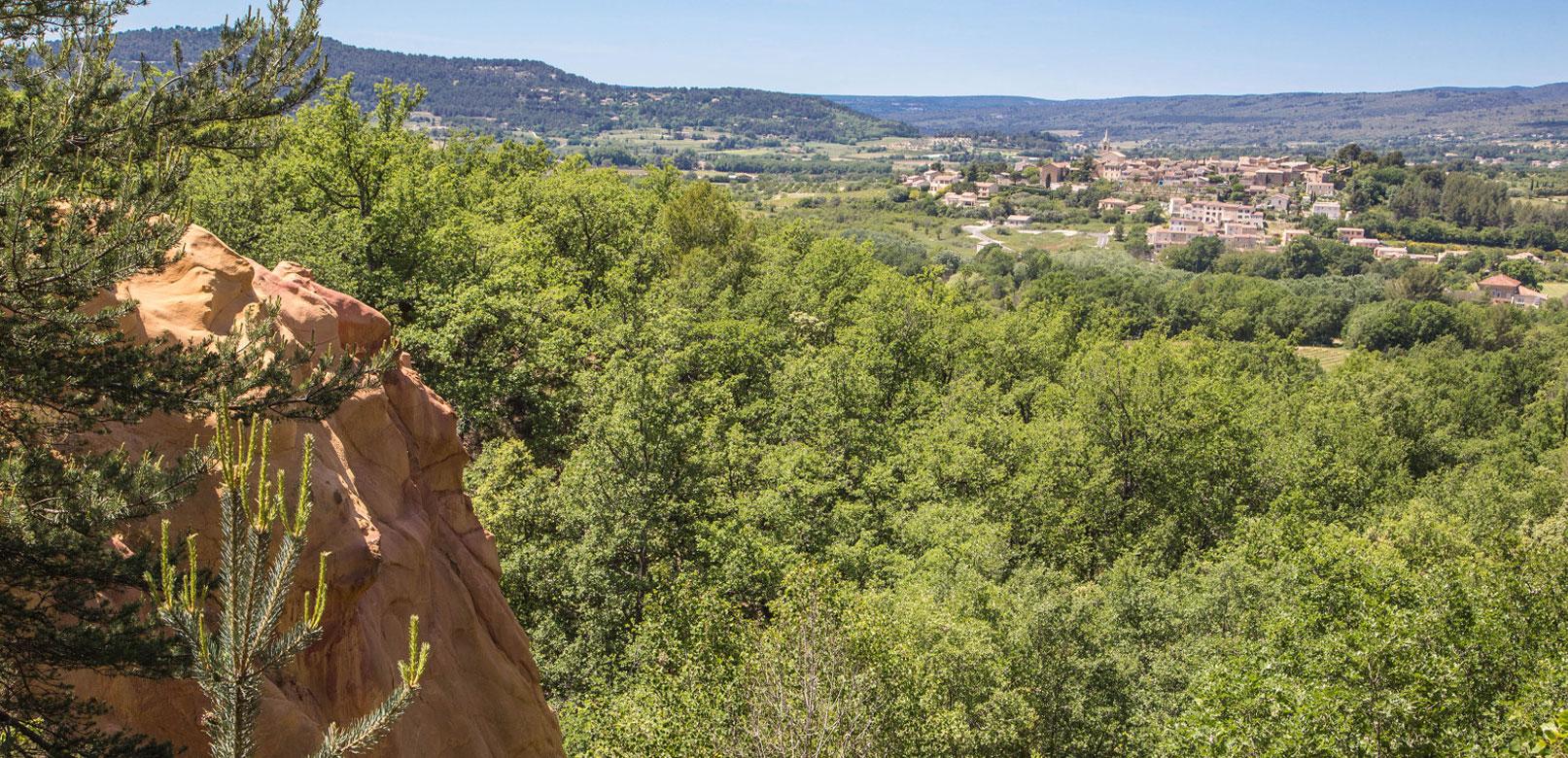 ocres de bruyère en Luberon  © Hocquel