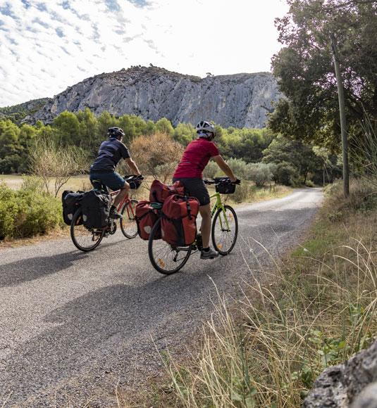 Séjours à vélo en Vaucluse