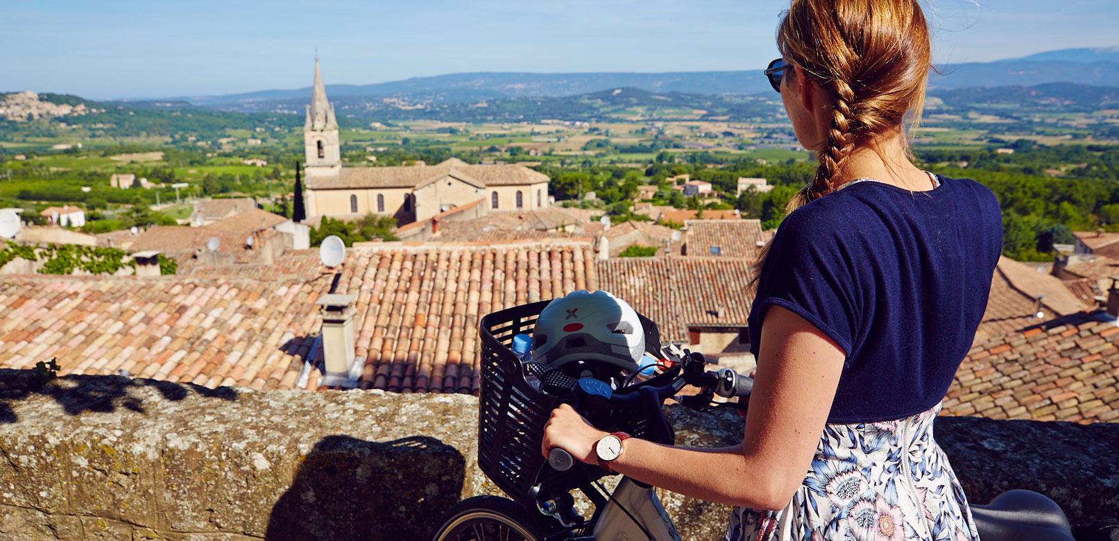 A vélo au fil des villages du Luberon