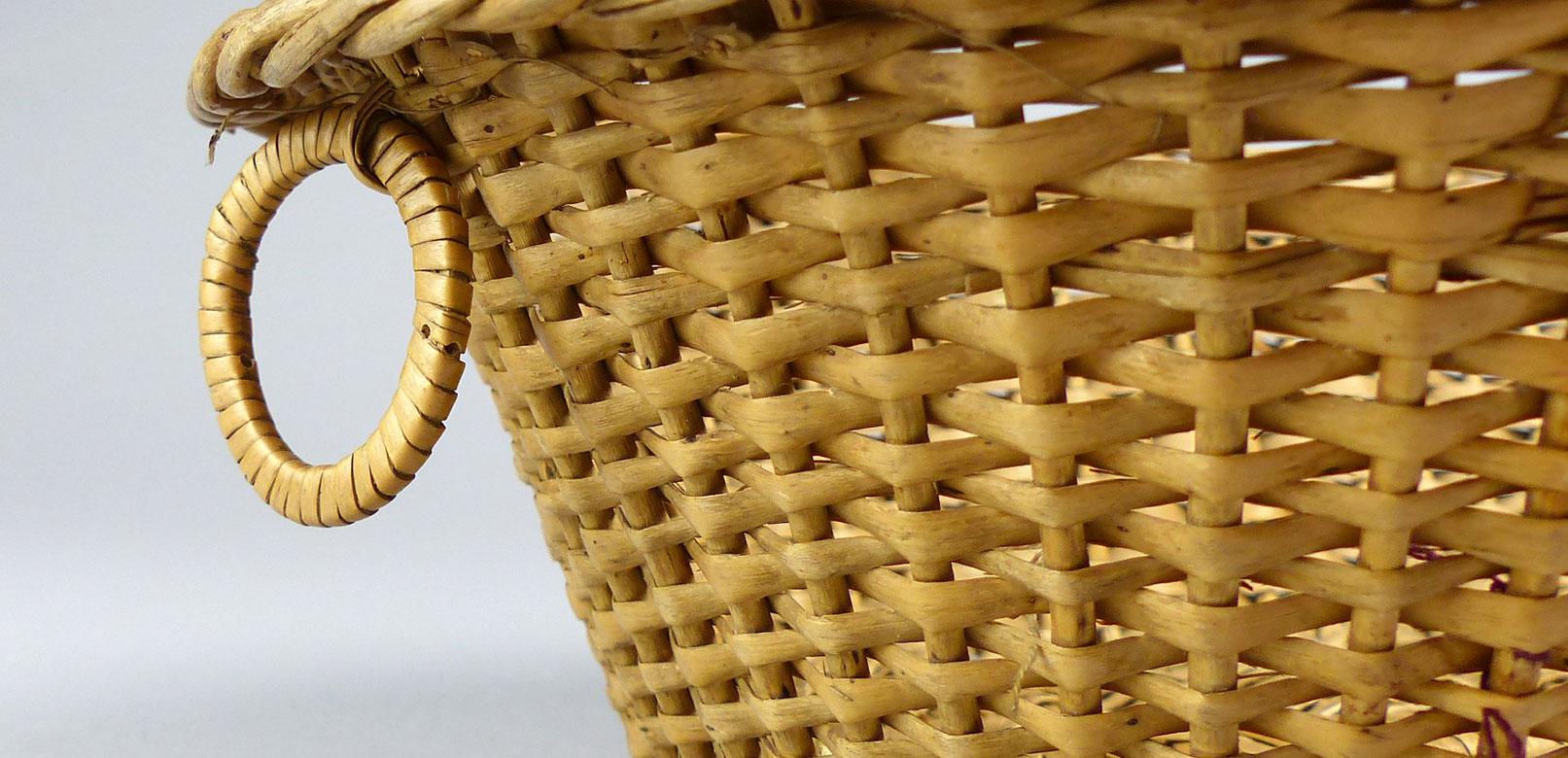 Panier au musée de la Vannerie à Cadenet © musée de la vannerie