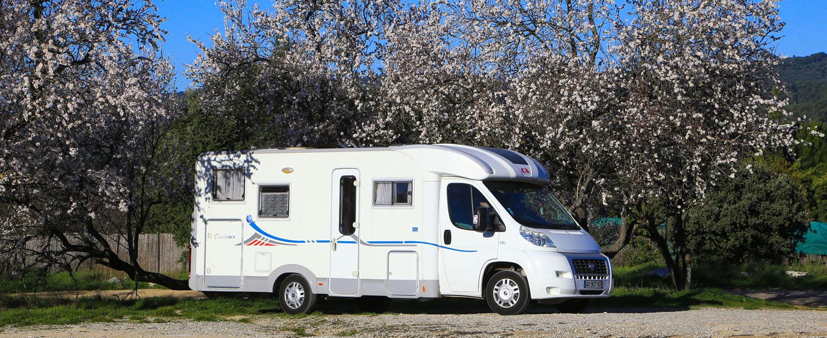 Le Vaucluse en camping-car