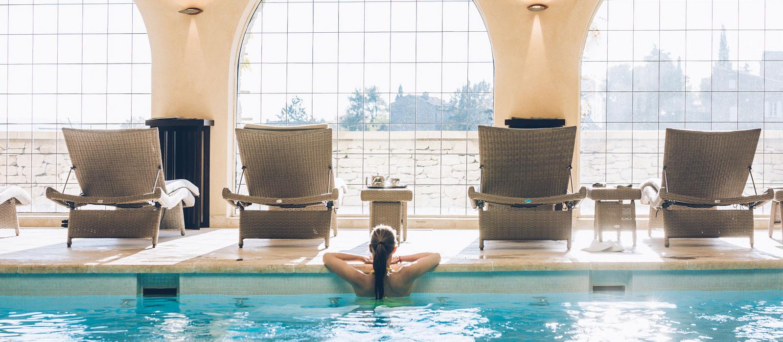 Hôtel bien-être et spa en Vaucluse © Coquard