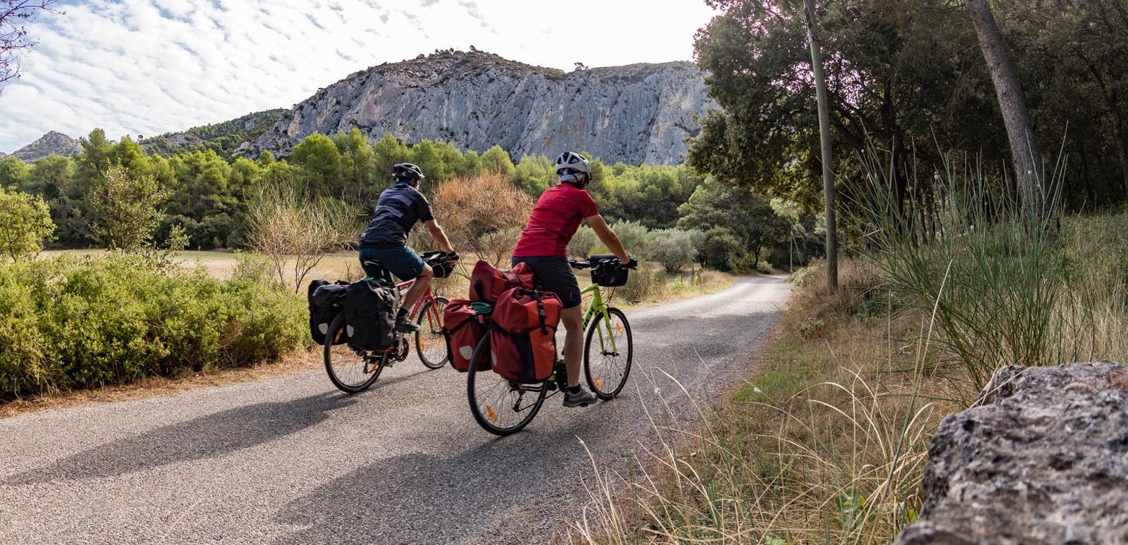 Vélo en Vaucluse © Rathay