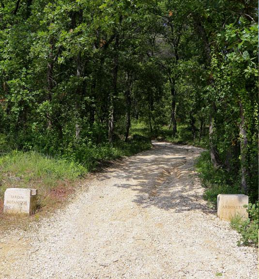 Sentier botanique du jardin de la Citadelle
