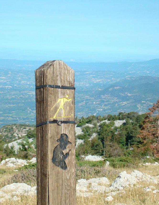 Sentier Jean-Henri Fabre au Ventoux
