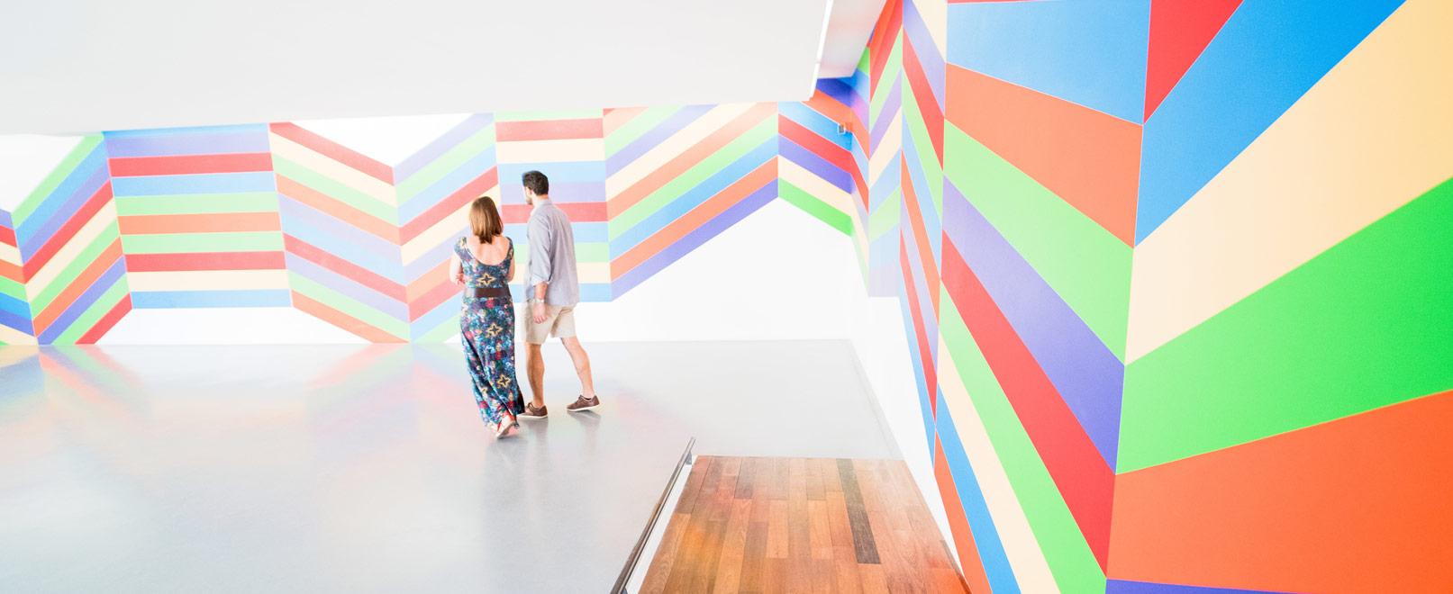Couple à la Collection Lambert d'Avignon © Planque