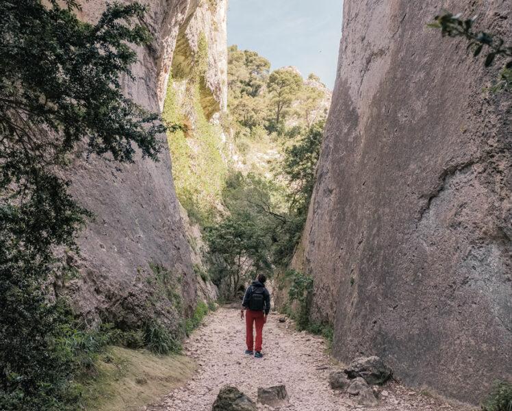 Randonnée dans les gorges du Régalon – Luberon © Verneuil