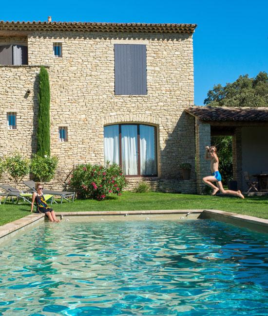 Piscine en Provence