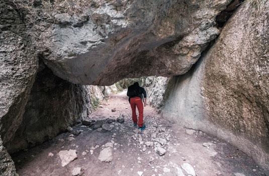 Canyon Gorges du Régalon -Luberon