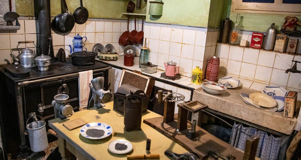 Cuisine au musée d'Histoire Jean Garcin