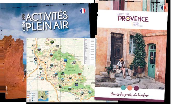 Documentation touristique Vaucluse