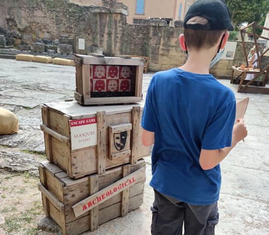 Escape game au théâtre-antique d'Orange