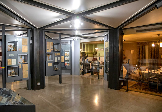 Hall du musée d'Histoire Jean Garcin