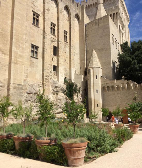 Jardins du Palais des Papes