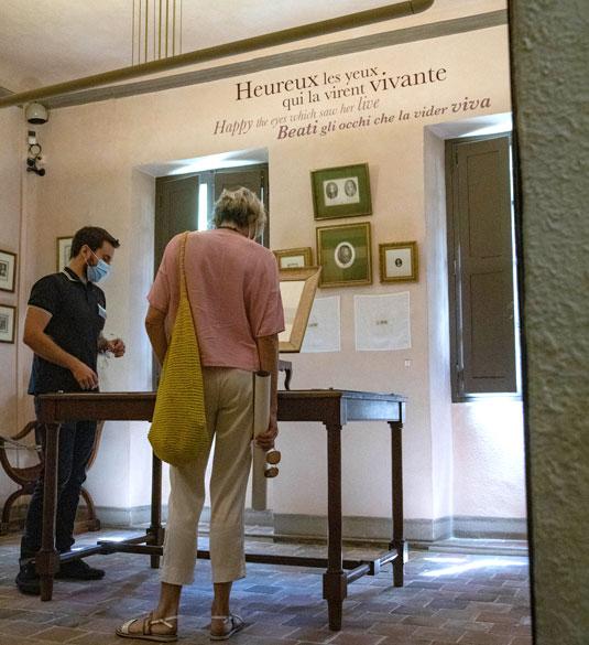Visite au musée Pétrarque