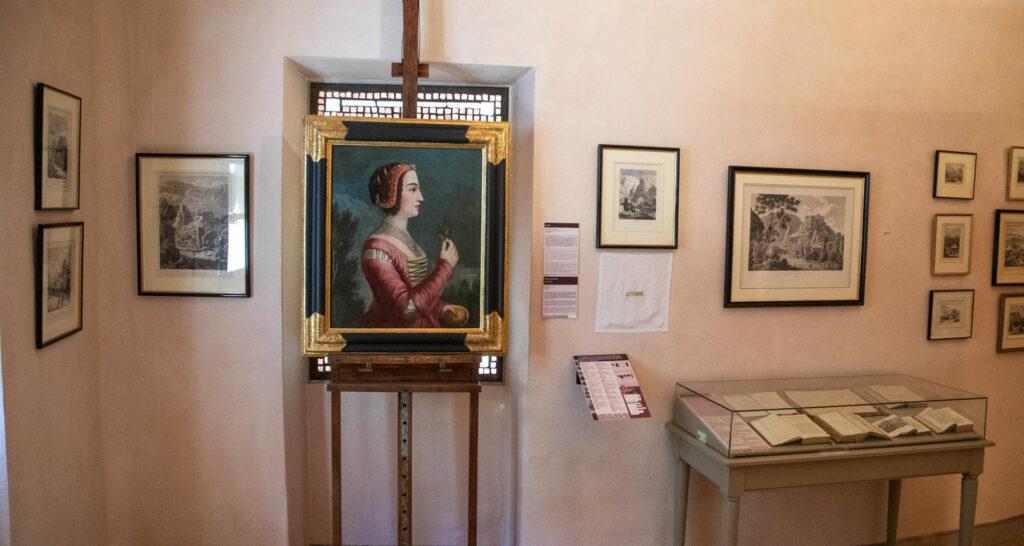 Portrait musée-bibliothèque Pétrarque