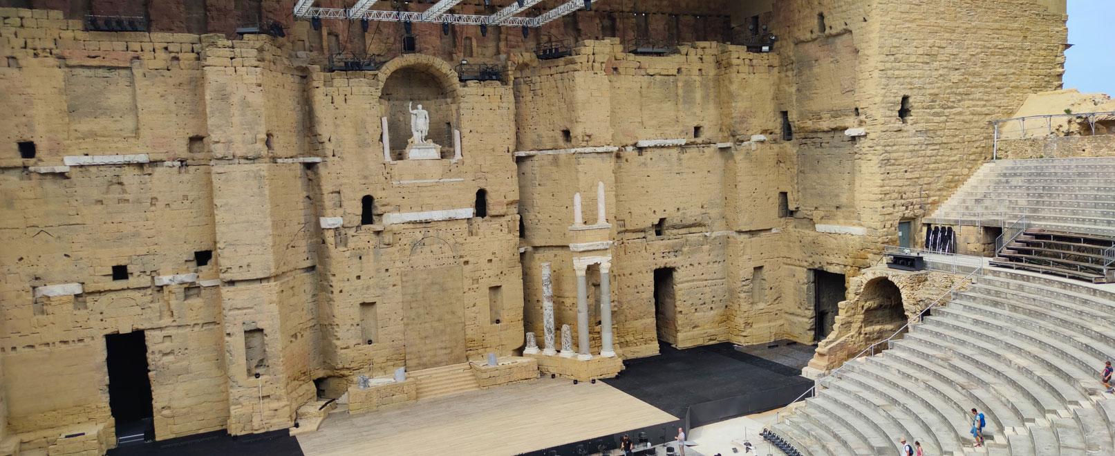 Escape game au théâtre antique d'Orange