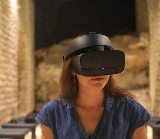 Visite virtuelle au Théâtre antique d'Orange