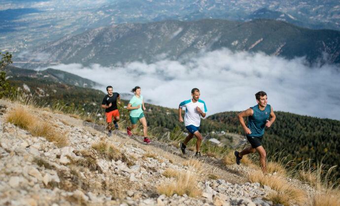 Trail au mont Ventoux