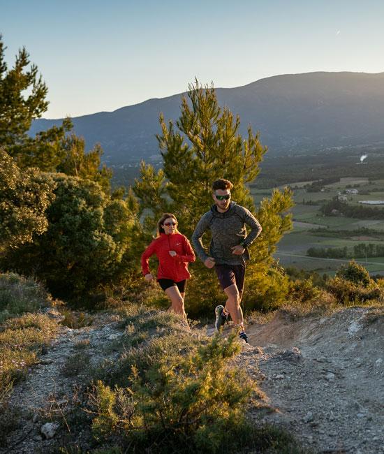 Trail en montagne en Vaucluse