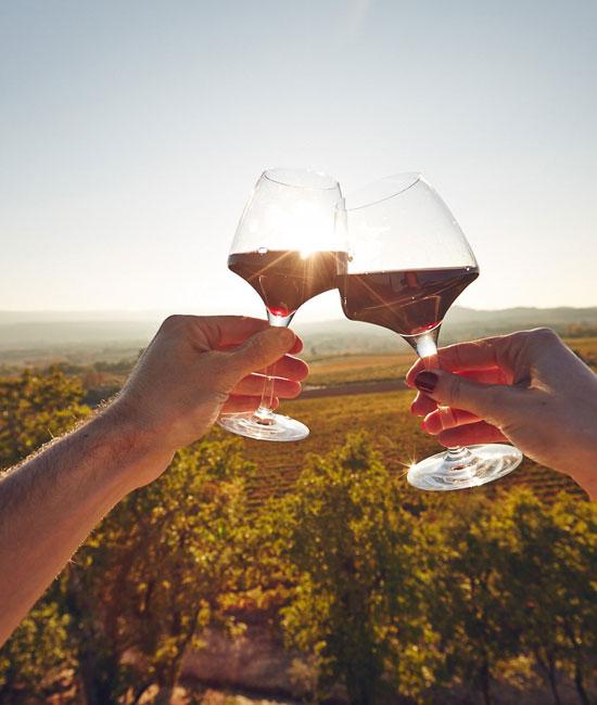 Verres vin