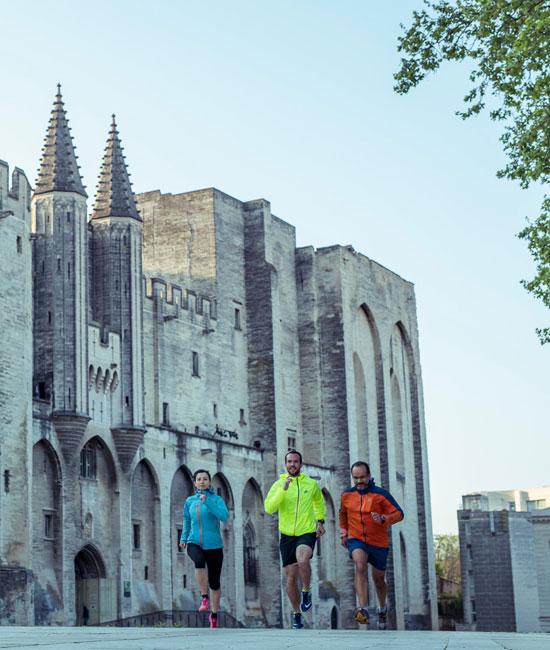 Running à Avignon