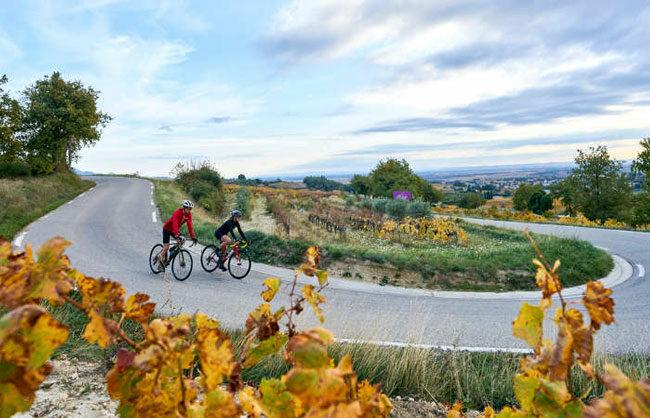 Vélo en Provence en automne