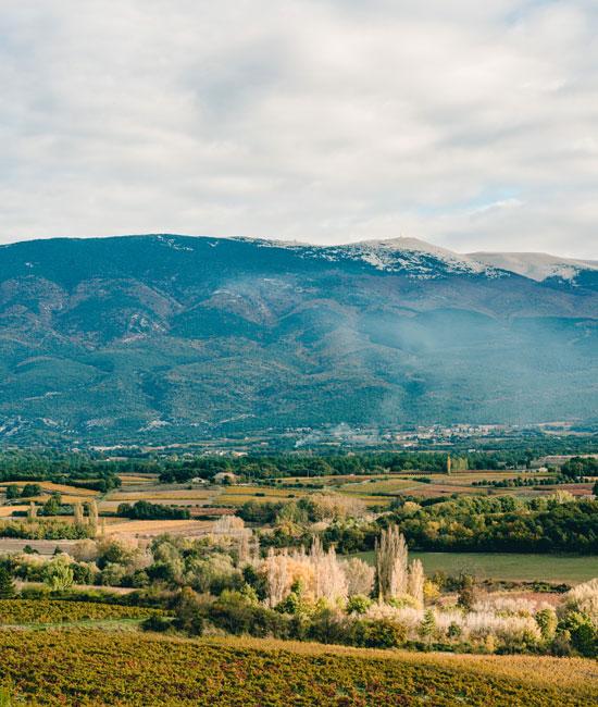Mont Ventoux en automne